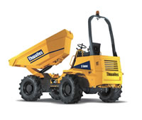6 tonne dumper hire from Dial a Digger in Hampshire