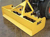 BLEC Box Scraper hire