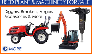 Plant machinery for sale from Dial a Digger in Hampshire
