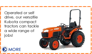 Tractor hire from Dial a Digger