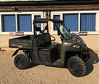 ATV  hire from Dial a Digger in Hampshire